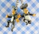 【震撼精品百貨】日本精品百貨-手機吊飾/鎖圈-爆笑系列-鑰匙圈-2入