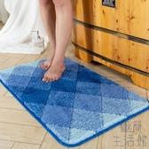 臥室地墊吸水擦腳墊衛浴進門墊浴室防滑墊子家用【極簡生活】