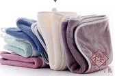 4條裝 棉吸水毛巾洗臉面巾純柔軟男女【櫻田川島】