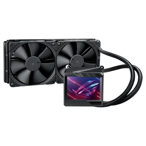 ASUS 華碩 ROG RYUJIN II 240 RGB 龍神二代 一體式水冷散熱器 3.5吋液晶顯示器