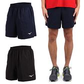 MIZUNO 男桌球短褲 (免運 乒乓球 五分褲 競賽 運動短褲 美津濃≡排汗專家≡