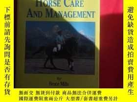 二手書博民逛書店HORSE罕見CARE AND MANAGEMENTY179070 HORSE CARE AND MANAGE
