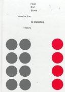 二手書博民逛書店 《Introduction to Statistical Theory》 R2Y ISBN:0395046378│Brooks/Cole Publishing Company