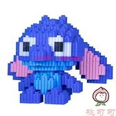 立體拼圖小顆粒積木拼裝鉆石成年高難度玩具益智生日禮物【桃可可服飾】