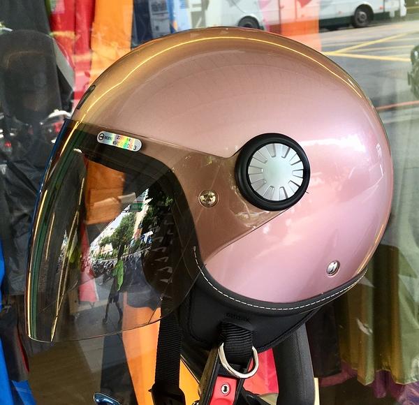 ASTONE安全帽,AJ(228),素色/玫瑰金