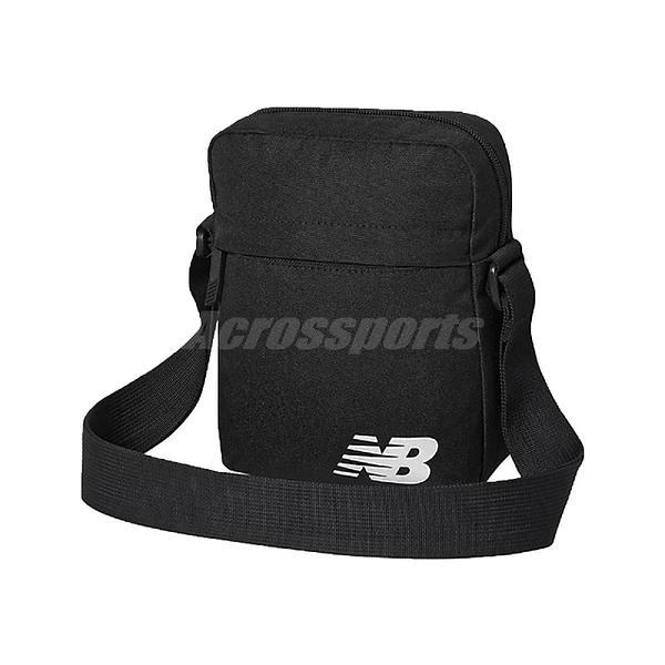 New Balance 斜背包 Mini Shoulder Bag 黑 白 男女款 外出 隨身小包 【ACS】 BG03080GBKW