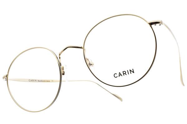 CARIN 光學眼鏡 BLOSSOM C4 (金) 韓星秀智代言 質感簡約鏡框 # 金橘眼鏡