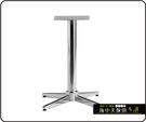 {{ 海中天休閒傢俱廣場 }} C-99 摩登時尚 餐桌腳系列 484-16 鋼管餐桌腳/電鍍腳