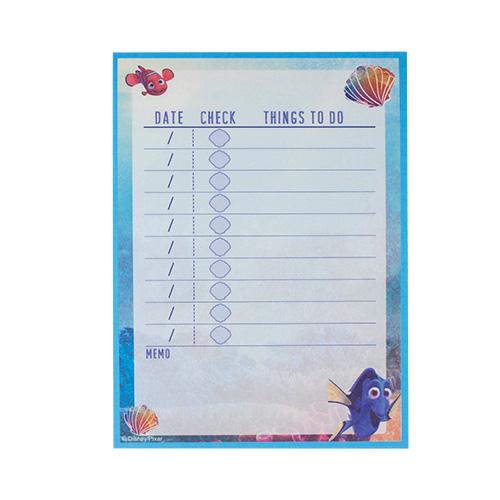 《sun-star》海底總動員2:多莉去哪兒 TO DO LIST便條紙(藝術彩繪)★funbox生活用品★_UA49608