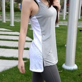 運動背心-細膩質感舒適自然女健身上衣8色73eu33[時尚巴黎]