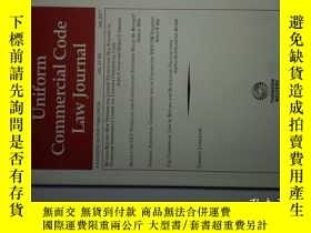 二手書博民逛書店UNIFORM罕見COMMERCIAL CODE LAW JOURNAL 07 2017 統一商法法典法律學術原版