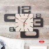創意掛鐘客廳時鐘藝術復古靜音個性北歐風格jy現代掛錶實大號墻鐘 滿598元立享89折