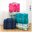 韓版大容量摺疊行李袋/收納袋-共3色-(加購品)-隨機出貨不挑款-A16160039-天藍小舖