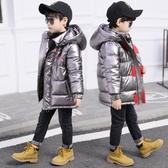 童裝男童棉衣2019新款中大兒童冬裝羽絨棉棉服外套冬季洋氣棉襖潮