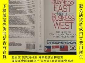二手書博民逛書店WHEN罕見BUSINESS EAST MEETS BUSINESS WESTY12348