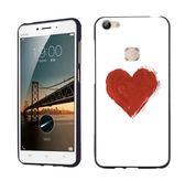 MA 紅色愛心步步高x6手機殼vivox6plus創意個性簡約時尚硅膠軟殼 時尚潮流