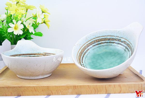 【堯峰陶瓷】日式餐具 綠如意系列 4.5吋醬料碗(兩入一組)蛋糕 水果碗 套組餐具系列