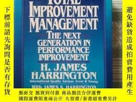 二手書博民逛書店Total罕見Improvement Management :
