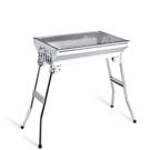 燒烤爐戶外烤爐不銹鋼可折疊便攜式烤架【七月特惠】