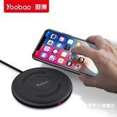 iphonex無線充電器蘋果iphone8通用oppo安卓vivo三星S8手機s7