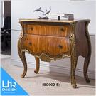 古典奢華風艾維斯3.1尺二抽置物櫃(18I20/A402-02)【UR DESIGN 客廳】