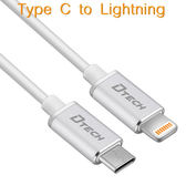 【2M】Type C to Lightning 傳輸充電線 Apple 最新MacBook筆電、iPhone 7/7 Plus、iPad/iPad Pro、iPhone 6S/6S Plus-ZW