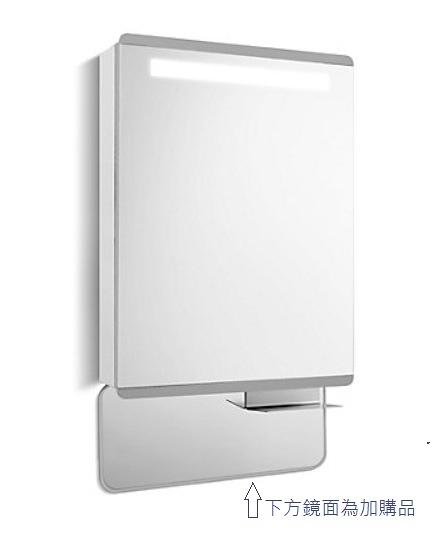 【 麗室衛浴】美國 KOHLER活動促銷 FAMILY CARE LED60CM浴室置物櫃K-25237T-L-NA/K-25237T-R-NA
