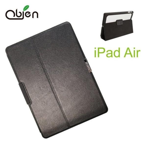 Obien iPad Air 真皮鋁質背板保護套 (專利上鎖功能)