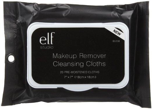 【愛來客 】美國ELF Makeup Remover Cleansing Cloths 彩妝卸妝巾/卸妝棉 20片便攜裝