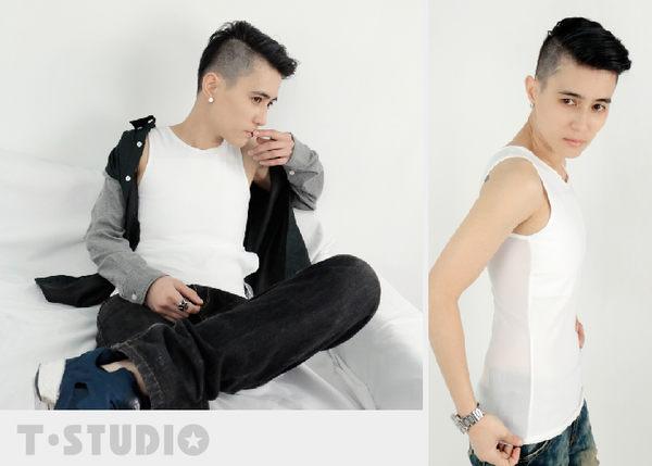 《T-STUDIO》AIR+輕薄透氣網布平價粘式全身束胸內衣(白) 【S】