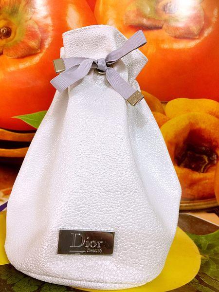 ☆阪神宅女☆DIOR 迪奧化妝包 高雅精緻 宴會手拿包 有DIOR標誌 ☆全新百貨專櫃正貨