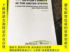 二手書博民逛書店LITIGATION罕見RISK AND OPPORTUNITY IN THE UNITED STATES 在美國