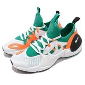 【六折特賣】Nike 武士鞋 Huarache E.D.G.E. TXT QS 綠 橘 全新系列 男鞋 運動鞋【PUMP306】 BQ5206-100