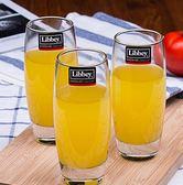 飲料杯玻璃杯套裝家用無蓋泡茶喝水杯子果汁杯牛奶杯6只「多色小屋」