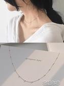 少女細項鍊項圈日韓纖細復古間隔小珠短款頸鍊鎖骨鍊X148 花樣年華 花樣年華