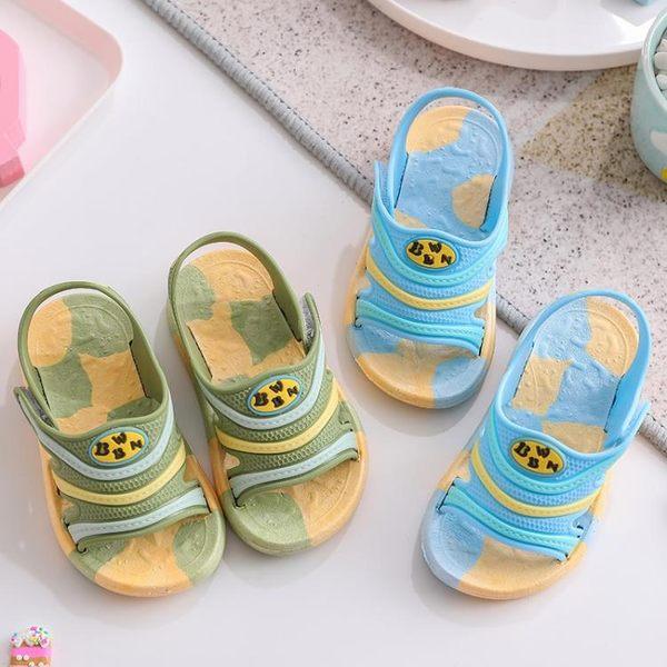 2019新款夏季兒童涼鞋嬰幼兒1-7歲男童女童防滑厚底寶寶沙灘涼鞋