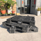 塑膠棧板 二手棧板 中古棧板 韓國製 120x120x15cm 田字型 網面四向插 倉儲 貨運 堆高機 拖板車 花藝