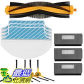 [107美國直購] 掃地機配件 Electropan Replacement Ecovacs Accessory Kit for DEEBOT M80 M80 Pro Robotic Vacuum Cleaner_TA2