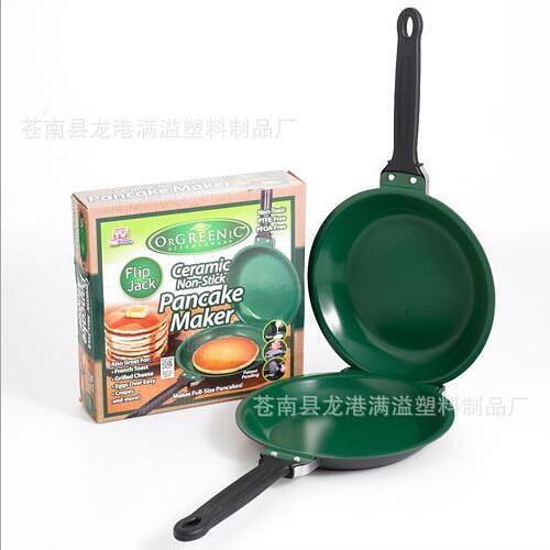 Flip Jack Pan ceramic Pancake Maker蛋糕平底鍋TV 墨西哥蛋糕機 wk12307