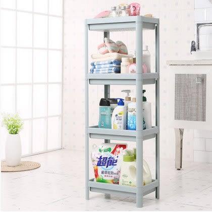 衛生間置物架浴室多層儲物廁所落地收納架子洗手間塑料整理雜物架
