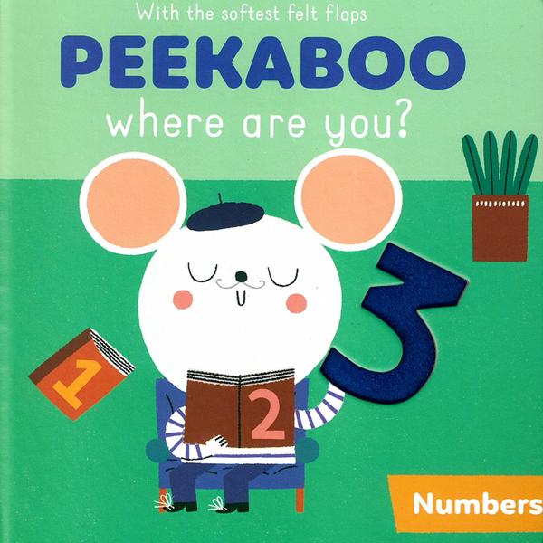 Peekaboo,Where Are You?:Numbers 躲貓貓翻翻書:數字篇