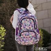 韓版初中學生書包女大容量後背包超輕背包小學生書包三到六年級 雙十一全館免運