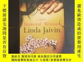 二手書博民逛書店a罕見most Immoral WomanY271632 Lin