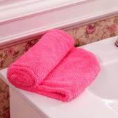 浴帽 乾髮巾 毛巾 洗頭  包頭巾 擦髮巾 加厚 速乾 擦頭 吸水 超厚珊瑚絨 乾髮帽 【P571】慢思行