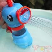 兒童洗澡玩具抽水噴水花灑寶寶沐浴戲水【聚可愛】