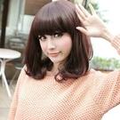 整頂假髮(中長髮)-清新甜美可愛鮑伯頭女假髮3色73ef46【時尚巴黎】