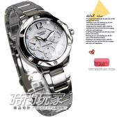 【時間玩家】CASIO Sheen年輕摩登‧施華洛世奇SWAROVSKI水晶鑽 女錶 (白色) SHE-3022SBD-7ADF