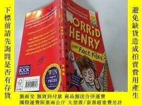 二手書博民逛書店Horrid罕見Henry:Funny Fact Files 可怕的亨利:有趣的事實檔案Y200392