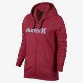 Hurley ONE & ONLY ICON FLEECE ZIP 連帽外套-女(紅)