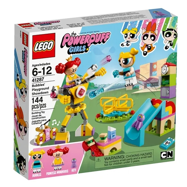 LEGO 樂高 Bubbles Playground Showdown 飛天小女警 41287